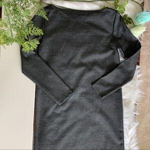 Gap Long Sleeve Shift Dress